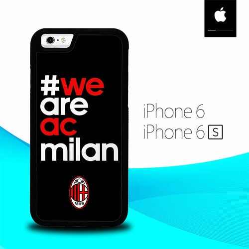 We Are Ac Milan O1210 hoesjes iPhone 6, iPhone 6S