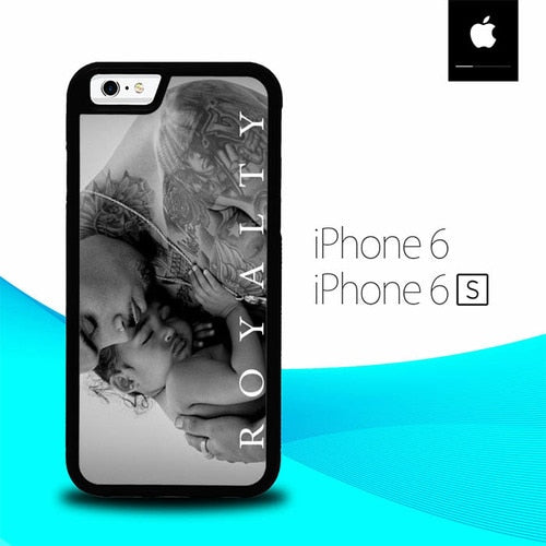 Chris Brown Royality Album O3025 hoesjes iPhone 6, iPhone 6S