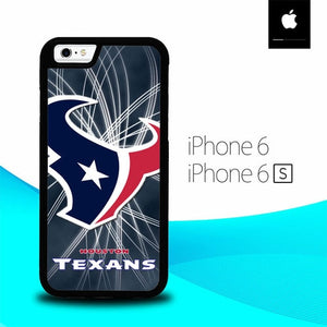 Houston Texans NFL American Football Team O3036 hoesjes iPhone 6, iPhone 6S