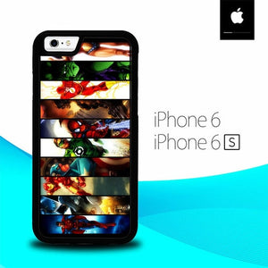 All Super Heroes O3062 hoesjes iPhone 6, iPhone 6S