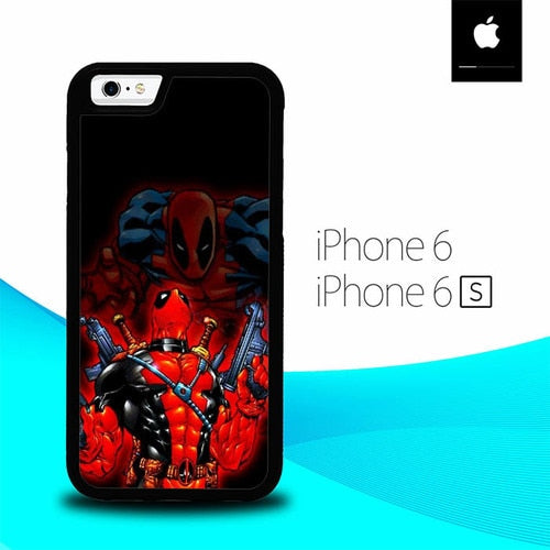 Deadpool Marvel O3163A hoesjes iPhone 6, iPhone 6S