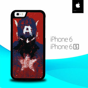Captain America Marvels O3166 hoesjes iPhone 6, iPhone 6S