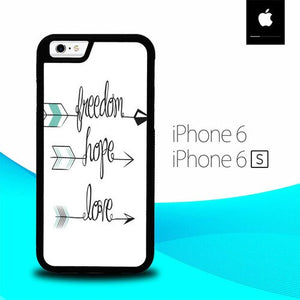 Arrow Quotes O3372 hoesjes iPhone 6, iPhone 6S