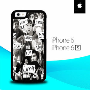 5 Second Of Summer Colleges O3418 hoesjes iPhone 6, iPhone 6S