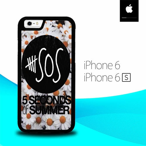 5 Seconds Of Summer Little Daisy O3429 hoesjes iPhone 6, iPhone 6S