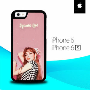 Lisa Square Up Blackpink O5086 hoesjes iPhone 6, iPhone 6S