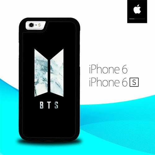 BTS Logo Marbel O5103 hoesjes iPhone 6, iPhone 6S