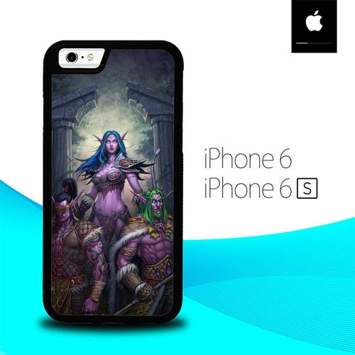 Warcraft O6554 hoesjes iPhone 6, iPhone 6S
