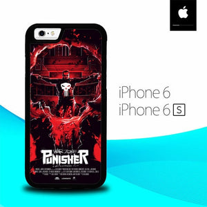 Warzone Punisher O6605 hoesjes iPhone 6, iPhone 6S