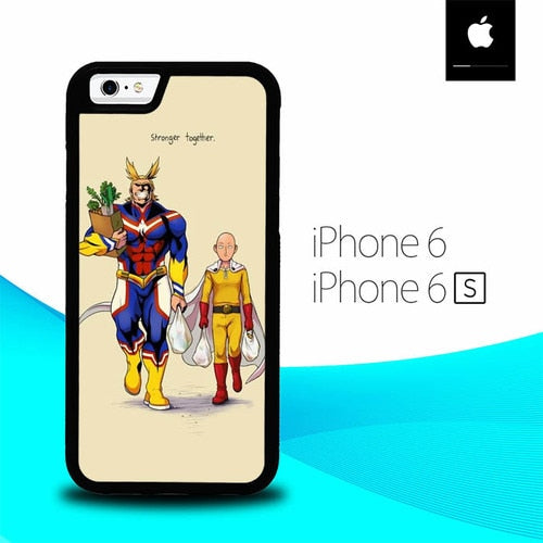 All Might Saitama O6962 hoesjes iPhone 6, iPhone 6S