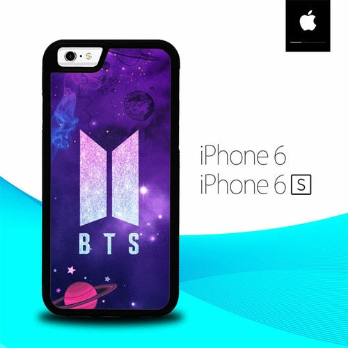 BTS Logo Galaxy O6998 hoesjes iPhone 6, iPhone 6S