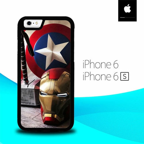 Marvel Heroes O7093 hoesjes iPhone 6, iPhone 6S