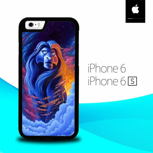 The Lion King O7096 hoesjes iPhone 6, iPhone 6S