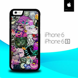 Alice in Wonderland O7098 hoesjes iPhone 6, iPhone 6S