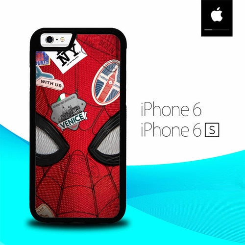 Spider Man Far From Home O7282 hoesjes iPhone 6, iPhone 6S
