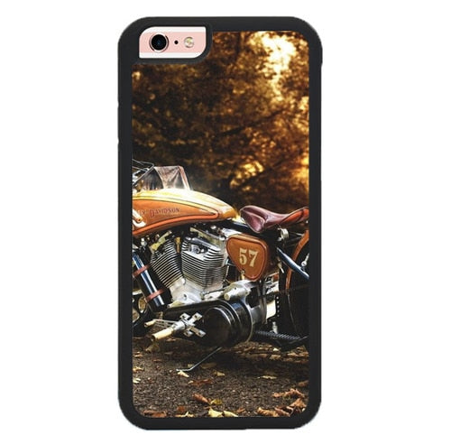 Harley Davidson Motorcycle O7378 hoesjes iPhone 6, iPhone 6S