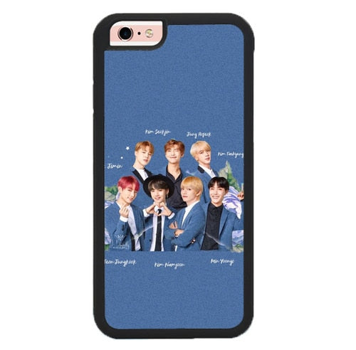 Full Personile BTS O7392 hoesjes iPhone 6, iPhone 6S