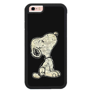 Snoopy has a big dream O7462 hoesjes iPhone 6, iPhone 6S