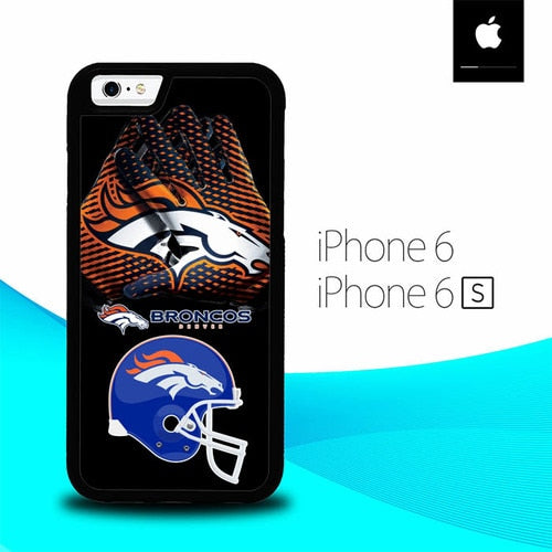 Denver Broncos Logo O7495 hoesjes iPhone 6, iPhone 6S