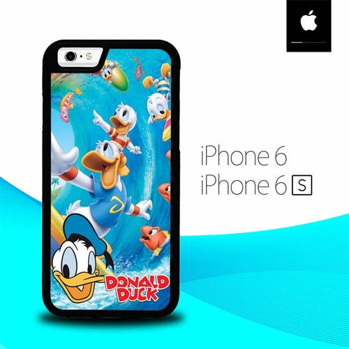 Donald Duck O7508 hoesjes iPhone 6, iPhone 6S