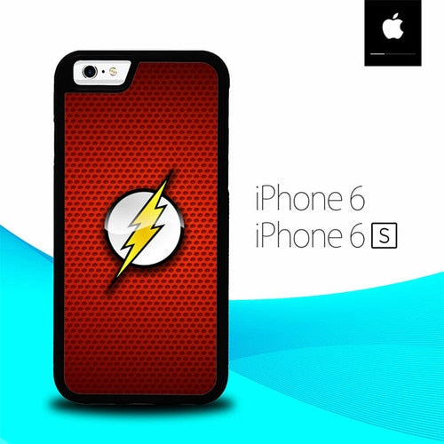 The Flash Logo O7570 hoesjes iPhone 6, iPhone 6S