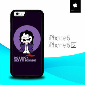 Joker Quotes O7619 hoesjes iPhone 6, iPhone 6S