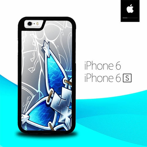 Kingdom Hearts Aqua Wayfinder O7644 hoesjes iPhone 6, iPhone 6S