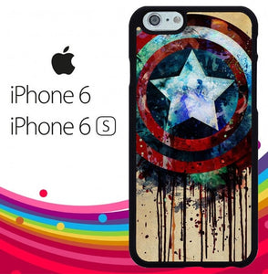 captain america shield art hoesjes iPhone 6, iPhone 6S