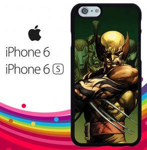 Dark Wolverine X-Man And Friend hoesjes iPhone 6, iPhone 6S
