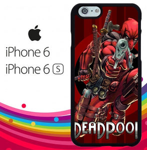 Deadpool Marvel Dc 2 hoesjes iPhone 6, iPhone 6S