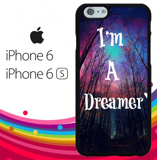 Im a dreamer Z1305 hoesjes iPhone 6, iPhone 6S
