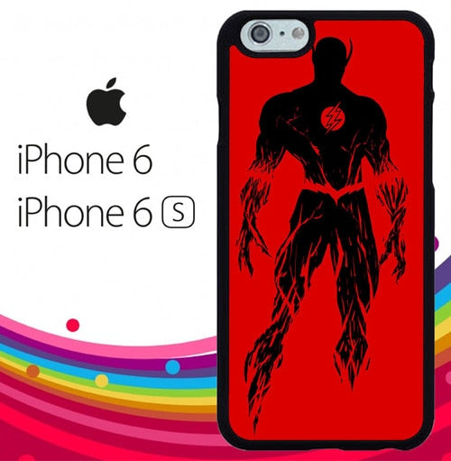Flash sinluet Z1327 hoesjes iPhone 6, iPhone 6S
