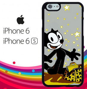 Felix The Cat Dictionary Z1401 hoesjes iPhone 6, iPhone 6S