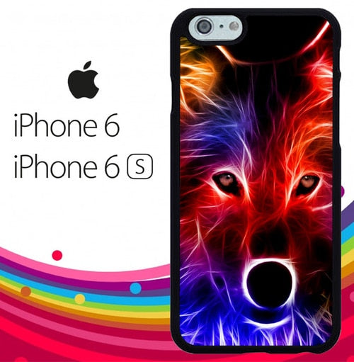 wolf glow line Z1432 hoesjes iPhone 6, iPhone 6S