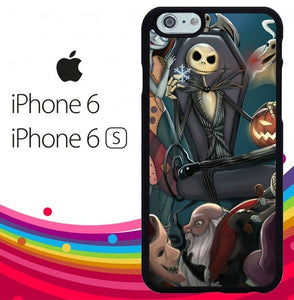 Nightmare Before Christmas Z1482 hoesjes iPhone 6, iPhone 6S