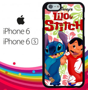 lilo stitch Z2200 hoesjes iPhone 6, iPhone 6S