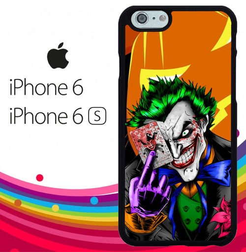 The Joker halloween Z2581 hoesjes iPhone 6, iPhone 6S