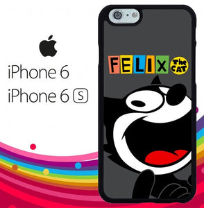 Felix The Cat Dictionary Z2957 hoesjes iPhone 6, iPhone 6S