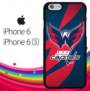 Washington Capitals Z3105 hoesjes iPhone 6, iPhone 6S