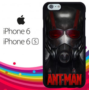 Ant Man Mask Movie Z3473 hoesjes iPhone 6, iPhone 6S