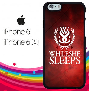 while she sleeps Z3599 hoesjes iPhone 6, iPhone 6S