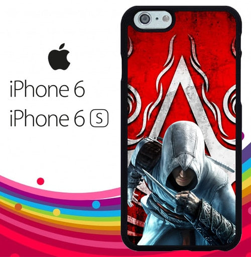 assassin creed Z3669 hoesjes iPhone 6, iPhone 6S