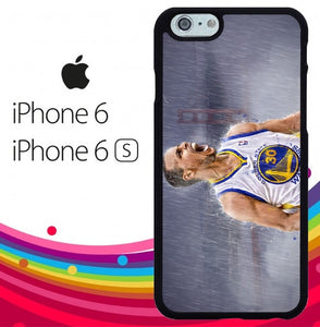 Stephen Curry pose Z4251 hoesjes iPhone 6, iPhone 6S