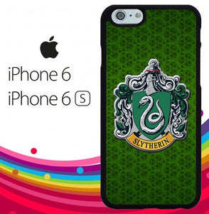 harry potter logo slytherin Z4397 hoesjes iPhone 6, iPhone 6S