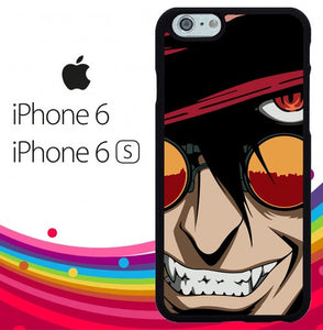 hellsing anime face Z4415 hoesjes iPhone 6, iPhone 6S
