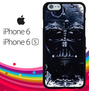 Star Wars darth vader Face Z4509 hoesjes iPhone 6, iPhone 6S