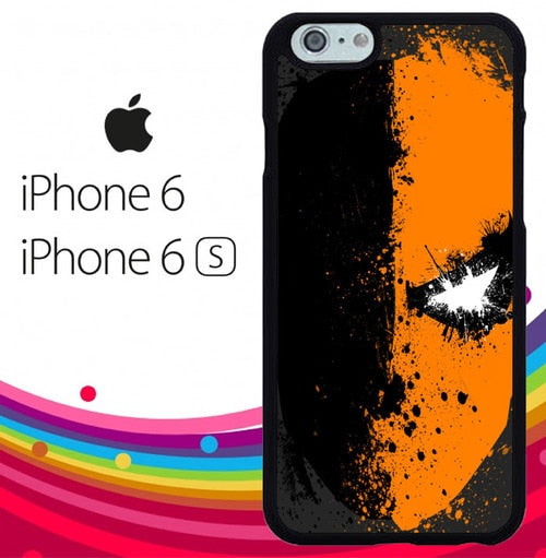 deathstroke face art Z4615 hoesjes iPhone 6, iPhone 6S