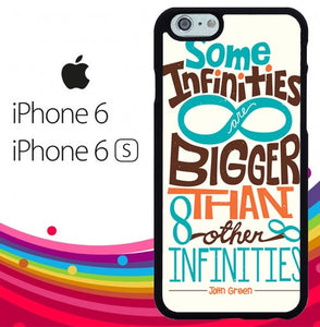 The Fault in Our Stars Quote Infinity Z4687 hoesjes iPhone 6, iPhone 6S