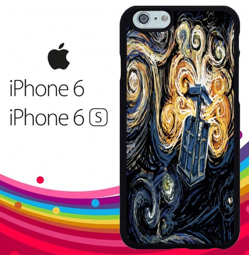 Doctor who Starry Z4712 hoesjes iPhone 6, iPhone 6S