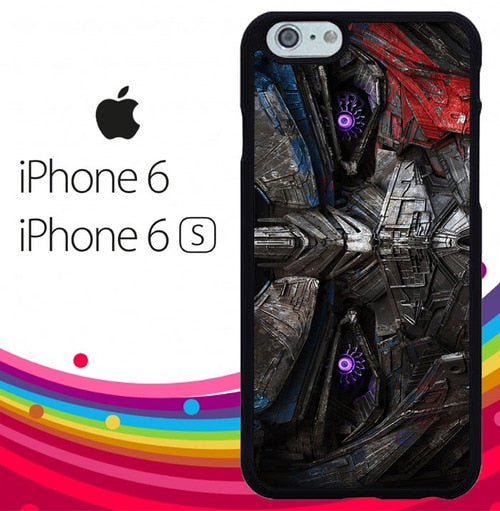 The Last Knight Optimus Prime Face Z5002 hoesjes iPhone 6, iPhone 6S